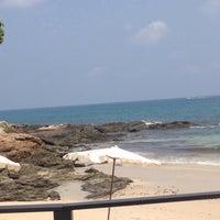 Photo taken at Sangthian Beach Resort by Phay M. on 3/19/2016