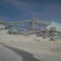 Photo taken at Chancador N° 1 Minera Escondida by Ricardo V. on 2/21/2013