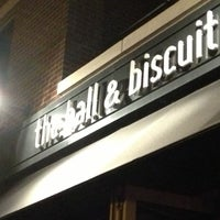 Photo taken at Ball & Biscuit by Adam S. on 10/5/2012