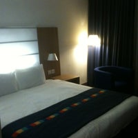 Photo taken at Park Inn by Radisson Hotel and Conference Centre London Heathrow by Charles S. on 10/22/2012