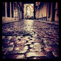 Photo taken at Riga Old Town by Marija S. on 8/10/2013