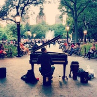 Photo taken at Washington Square Park by Josh P. on 6/30/2013