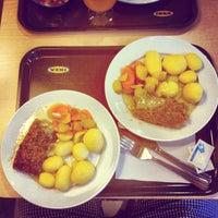 Photo taken at IKEA restaurace by Vi L. on 6/29/2013