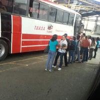 Photo taken at Terminal De Buses TUASA (Alajuela) by Jaikel B. on 10/10/2013