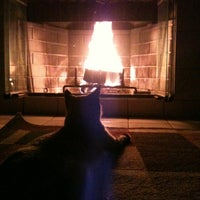 Photo taken at Relaxing By The Fire Place by Julia P. on 1/20/2012