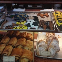 Photo taken at La Tropezienne Bakery by Cat P. on 11/2/2013
