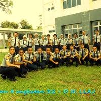 Photo taken at Sekolah Tinggi Transportasi Darat (STTD) by Dewi P. on 2/21/2013