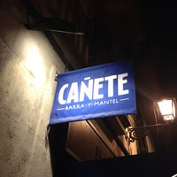 Photo taken at Cañete by Carles V. on 9/12/2013