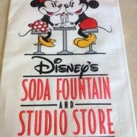 Photo taken at Disney's Soda Fountain & Studio Store by itsJonesie on 11/25/2012