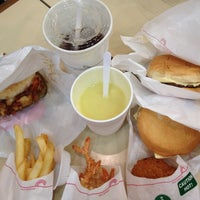 Photo taken at MOS Burger by Stella C. on 1/2/2013