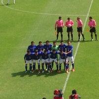 Photo taken at Estadio 10 de Diciembre by Alfredo F. on 10/20/2013