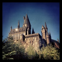 Photo taken at Harry Potter and the Forbidden Journey / Hogwarts Castle by Kate on 3/28/2013