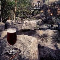 Photo taken at Stone Brewing World Bistro & Gardens by Bort R. on 3/5/2013
