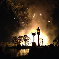 Photo taken at World Showcase by Amber C. on 1/26/2013
