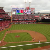 Photo taken at Great American Ball Park by Jarrid V. on 5/11/2013