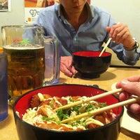 Photo taken at Yakyudori Yakitori & Ramen by Kayla C. on 4/20/2013