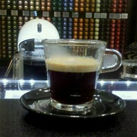 Photo taken at Boutique Nespresso by Emiliano Jose E. on 4/3/2014