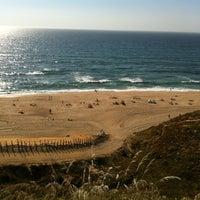 Photo taken at Praia das Bicas by Vilma Cristina C. on 6/1/2013