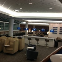 Photo taken at Delta Sky Club by Nick H. on 4/3/2013