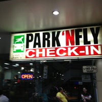Photo taken at Park 'N Fly by Felix S. on 1/27/2013