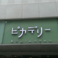 Photo taken at Shinjuku Piccadilly by cazooya on 6/22/2013