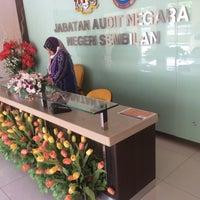 Photo taken at Jabatan Audit Negara, N. Sembilan by aqlh q. on 2/1/2016
