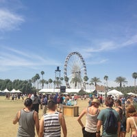 Photo taken at Coachella Main Stage VIP by Dulce G. on 4/13/2013