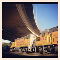 Photo taken at South San Francisco Caltrain Station by Joey C. on 11/6/2012