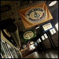 Photo taken at Anchor Brewing Company by Nick R. on 1/29/2013