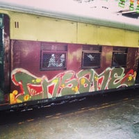 Photo taken at Matunga Railway Station by Chirag K. on 7/11/2014