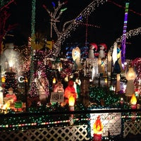 Photo taken at Christmas Light Display (christmasdisplay.org) by Darrell L. on 1/2/2014