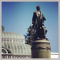 Photo taken at Volunteer Park Conservatory by Katherine H. on 5/4/2013
