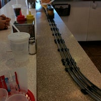 Photo taken at 2 Toots Train Whistle Grill by David K. on 2/22/2015