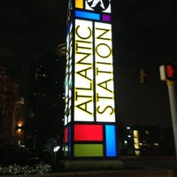 Photo taken at Atlantic Station by Jefferson S. on 1/29/2013