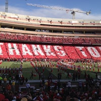 Photo taken at Memorial Stadium by Andy H. on 11/17/2012