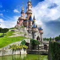 Photo taken at Disneyland® Paris by Jelle P. on 5/27/2013