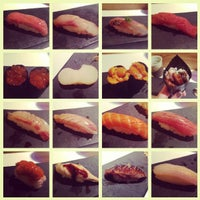 Photo taken at Sushi Azabu by Lilly L. on 3/11/2013