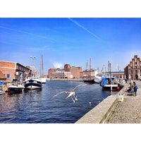 Photo taken at Hafen Wismar by Michael G. on 4/3/2014