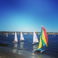 Photo taken at Mission Bay Park by Alexandre O. on 10/5/2013