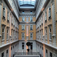 Photo taken at Corinthia Hotel Budapest by Piscolo on 4/11/2013