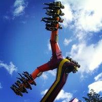 Photo taken at Canobie Lake Park by Erick W. on 10/21/2012