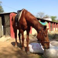 Photo taken at Delhi Riding Club by Hiroshi O. on 3/3/2013