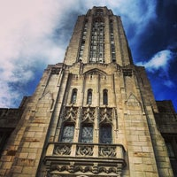 Photo taken at Cathedral of Learning by Keith L. on 7/11/2013
