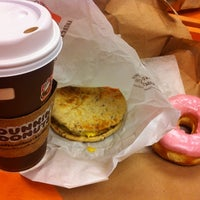 Photo taken at Dunkin' Donuts by Liza G. on 10/1/2012