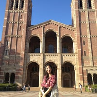 Photo taken at UCLA Powell Library by Tabtim C. on 9/25/2013