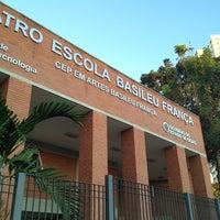 Photo taken at Teatro Escola Basileu França by Thiago H. on 6/4/2013