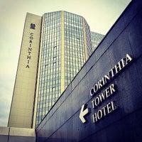 Photo taken at Corinthia Hotel Prague by Anton S. on 9/27/2013