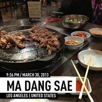 Photo taken at Ma Dang Sae by Alex A. on 3/31/2013
