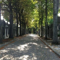 Photo taken at Père Lachaise Cemetery by MGM on 7/16/2013