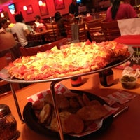 Photo taken at Shakey's Pizza by Jessica on 10/21/2012